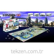 4D Cityscape LONDON Puzzle