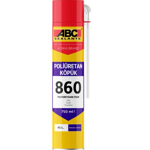 ABC 860 PU Köpük (Pipetli) 750 ml