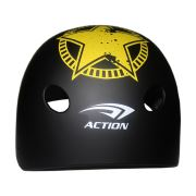 Action MTV-12 Junior Siyah Kask (53-55 CM)