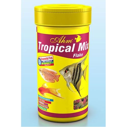 Ahm Tropical Mix Flake Pul Balık Yemi 250 ml