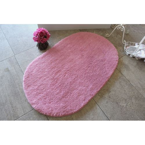 Chilai Home Colors Of Oval Pembe Banyo Paspası 60x100cm