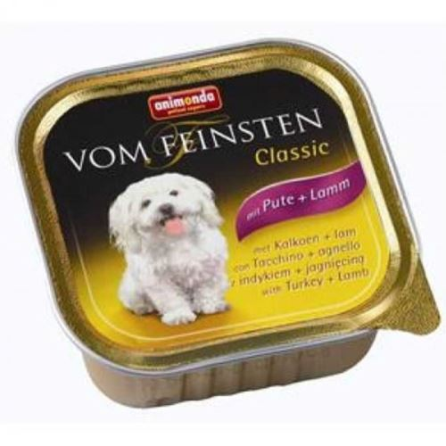 Animonda Vom Feinsten Hindi Ve Kuzu EtliKonserve Köpek Maması 150 Gr