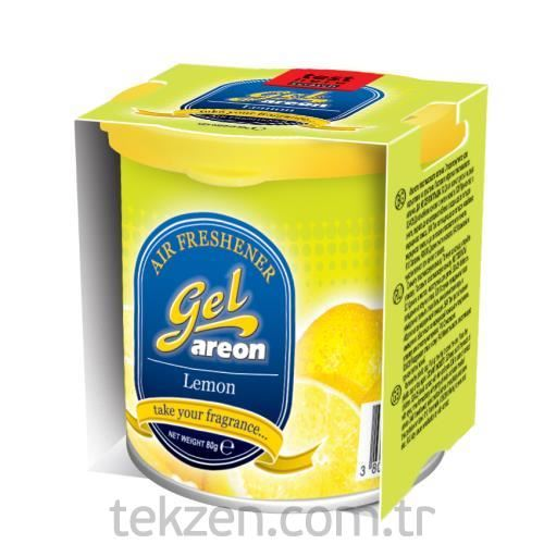 Gel Limon Metal Kutu Jel Koku