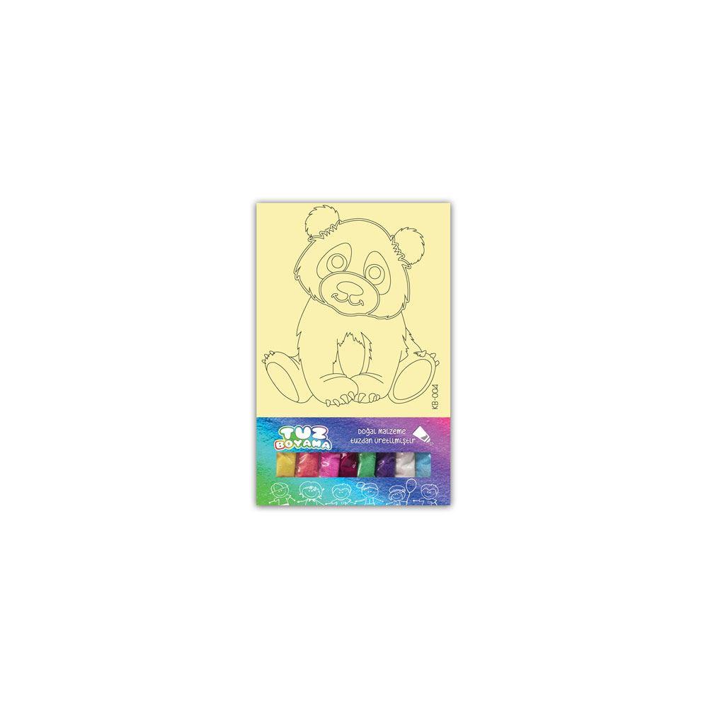 Tuz Boyama Panda 1 Kb 004 Tekzen