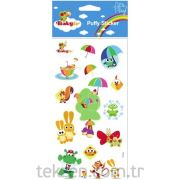 Stıcker Puffy Baby Tv Puffy 12X30 CM-BTV-002