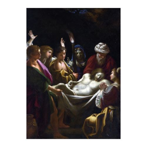 Sisto Badalocchio - Christ Carried to the Tomb 50x70 cm