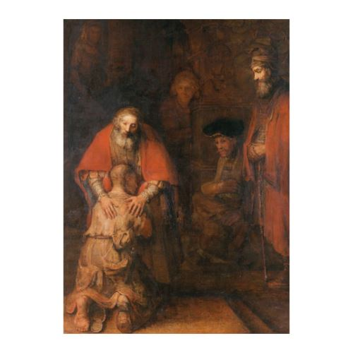 Rembrandt Harmenszoon Van Rijn - The Return of the Prodigal Son 50x70 cm