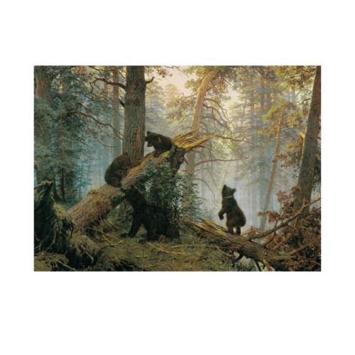 Ivan Shishkin - Morning in a Pine Forest 50x70 cm