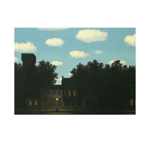 René Magritte - The Empire of Light 50x70 cm