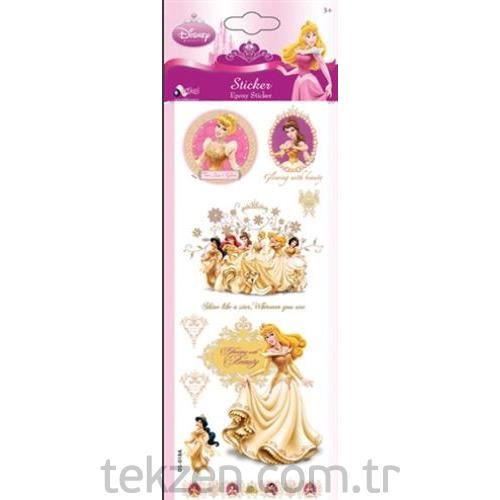 Sticker Epoxy Disney Prenses