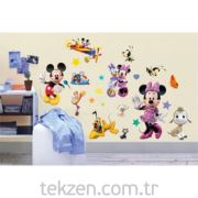 Dev Duvar Stikerı Disney Mıckey-ds024