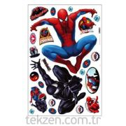 Sticker Spıderman Duvar-spm-006