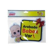 Oto Sticker Arabada Bebek var
