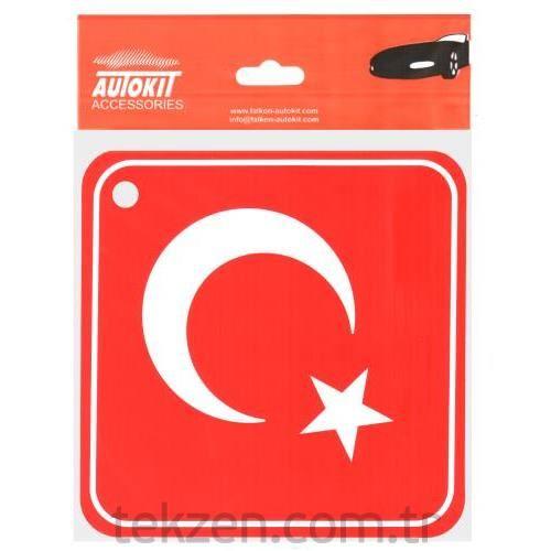 Oto Stıcker Ay Yıldız Türkiye Tekzen
