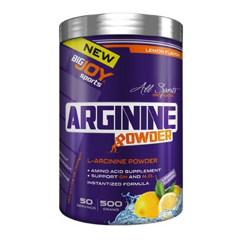 Big Joy L-Arginine Powder 500 Gr- Limon