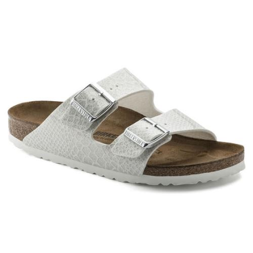 Birkenstock Terlik - Kadin - Arizona Magic Snake White - 37