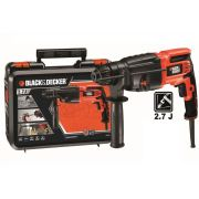 Black&Decker KD750KC 750Watt 2.7J SDS-Plus Kırıcı/Delici