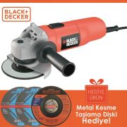 Black&Decker CD115 710Watt 115mm Avuç Taşlama