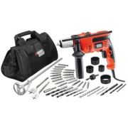 Black&Decker Darbeli Matkap 710w 13mm -40 parça CD714CR6W2