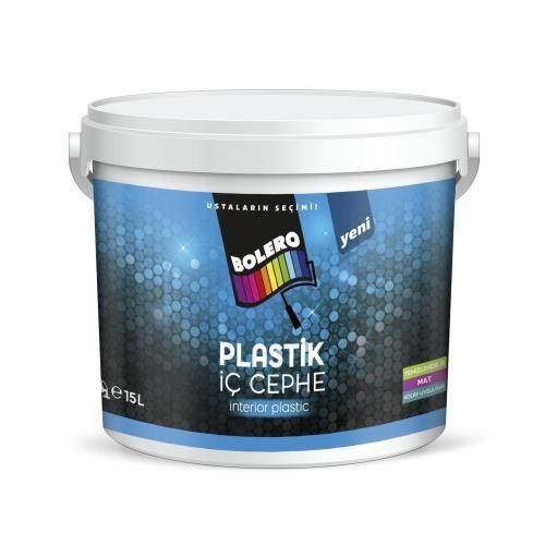 Bolero Silikonlu Plastik Beyaz Boya 7 5 Litre 10 Kg Tekzen