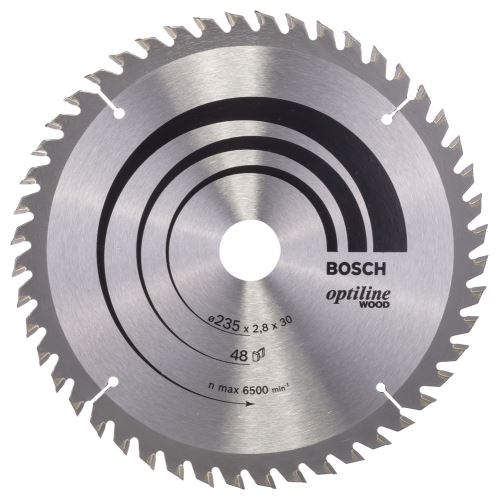 Bosch Optiline Wood 235*30/25 48 Diş