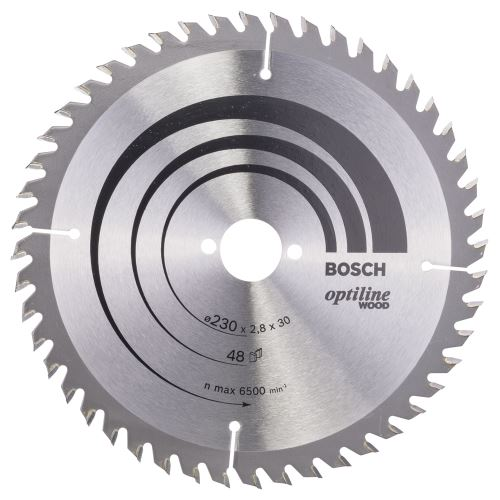 Bosch Optiline Wood 230*30 mm 48 Diş