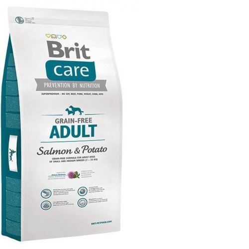 Brit Care Tahılsız Adult Salmon Potato 12 Kg Somonlu Köpek Maması