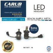 CARUB Xenon Led 12V Turbo C.O.B H4