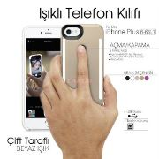 Telefon Kab Selfie Çift Ledli Iphone 6-7PLUS