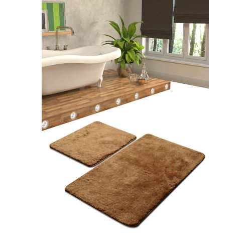 Chilai Home Colors Of 2'li Set Banyo Takımı Bej 60x100/50x60cm