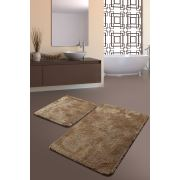 Chilai Home Colors Of 2'li Set Banyo Takımı Vizon 60x100/50x60cm