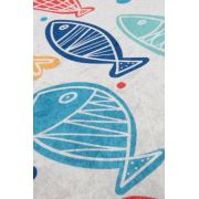 Chilai Home Fish Colourful Djt 40x60 Cm Banyo Halısı