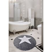 Chilai Home All Star Mıxed Çap 90x90 cm Banyo Halısı