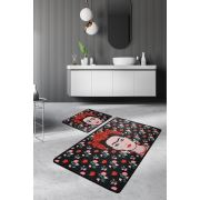 Chilai Home Frida Black Djt 2'li Set 60x100/50x60cm