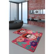 Chilai Home Frida Pink Djt 2'li Set 60x100/50x60cm