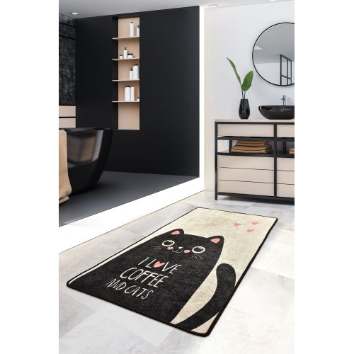 Chilai Home I Love Cats Djt 80x200 cm Dekoratif Halı
