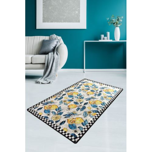 Chilai Home Lemon Djt Dekoratif Halı 80x200 cm