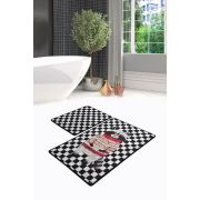 Chilai Home Mr Raccoon Djt 2'li Set Banyo Halısı 60x100 cm - 50x60 cm