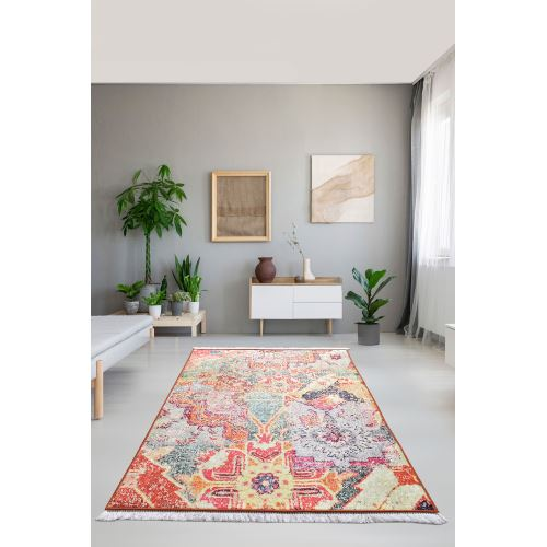 Chilai Home Surface Renkli Djt Dekoratif Halı 80x120 cm