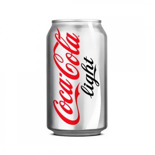 Coca Cola Kutu Light 330 ml 24'lü
