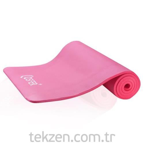 Cosfer 15 mm Yoga ve Pilates Minderi Pembe
