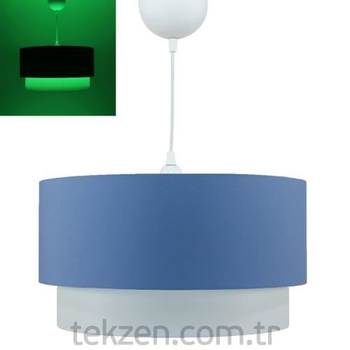 Crea Lighting Fosforix Sarkıt 40cm/Cotton/MaviDSS-CT24-40FX