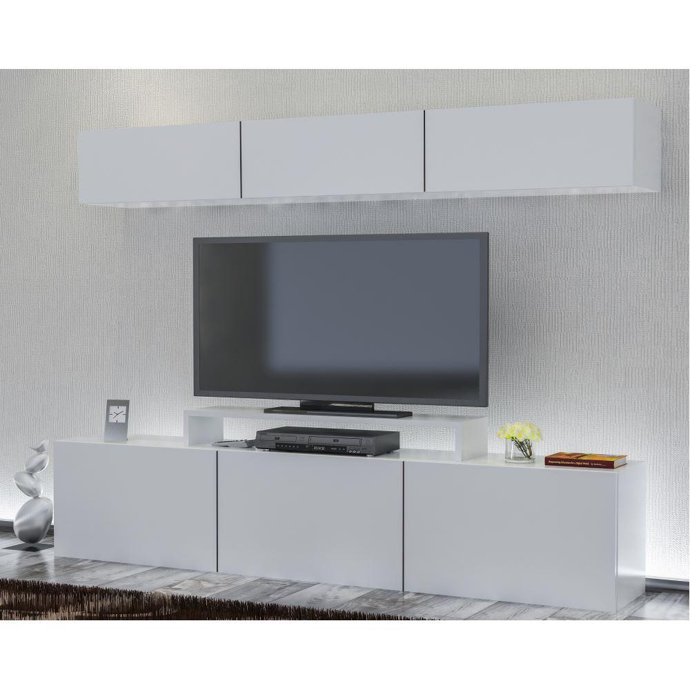 Decorotika Line Tv Nitesi Beyaz Beyaz Modelleri Ve Fiyatlar  # Melis Tv unitesi