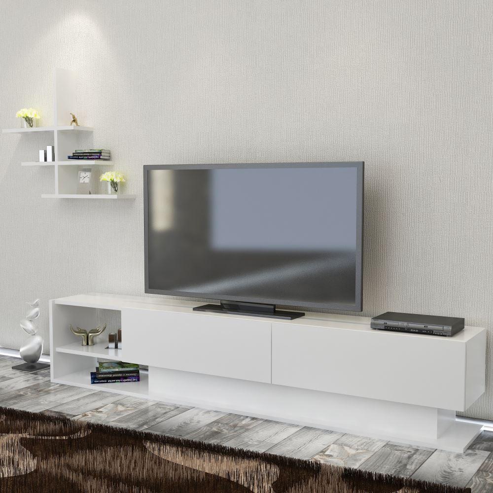 Minar Martin Tv Nitesi Beyaz Modelleri Ve Fiyatlar Tekzen # Melis Tv unitesi