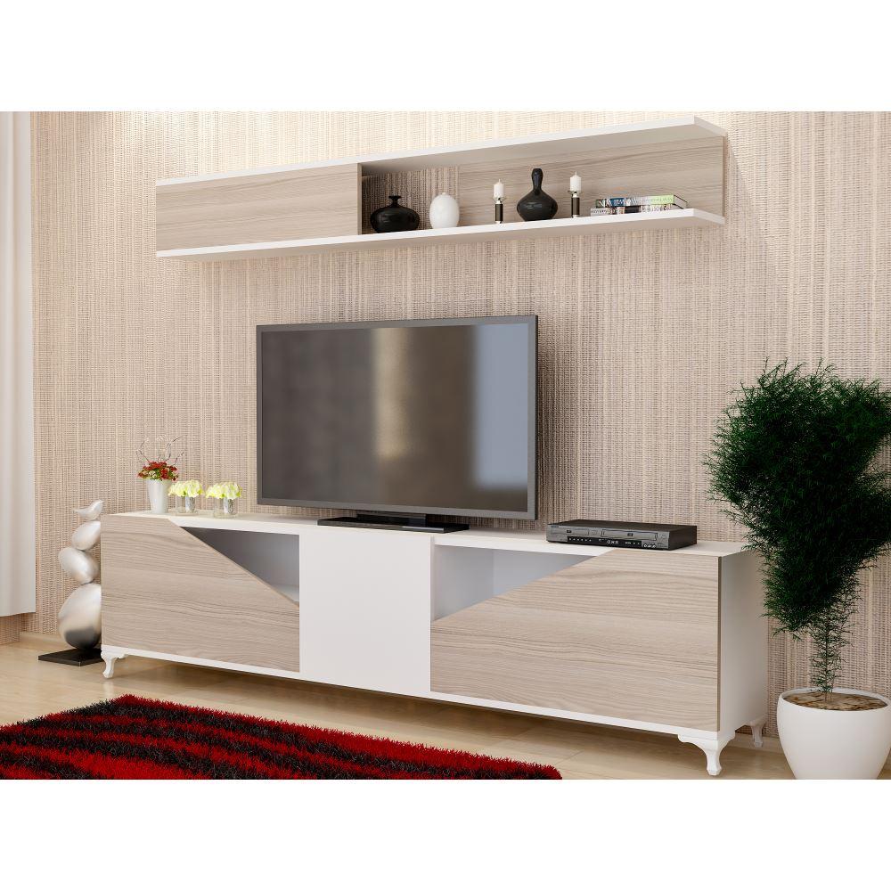 Decorotika Mas Tv Nitesi Beyaz Cordoba Modelleri Ve Fiyatlar  # Melis Tv unitesi