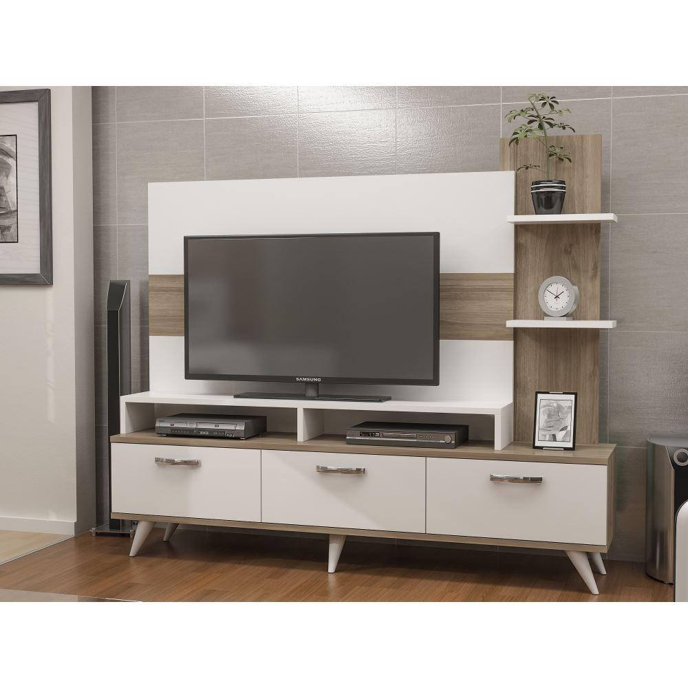 Lover Tv Nitesi Beyaz Ceviz Modelleri Ve Fiyatlar Tekzen # Melis Tv unitesi