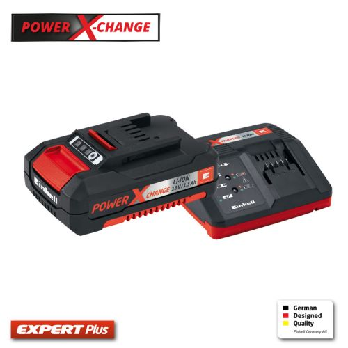 Eınhell Power X-Change Starter Kit  18 V Fast Changer +1,5 Ah Akü