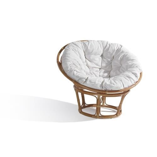 Papasan Bambu Çanak Sandalye Naturel  HDR1 ps278
