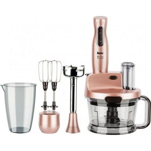 Fakir Mr Chef Quadro Blender Mikser Robot Seti Rose