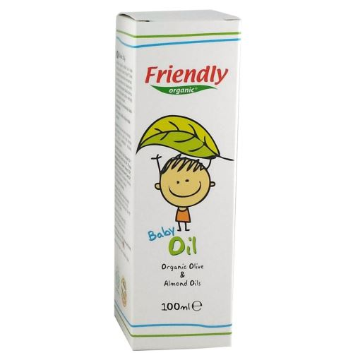 Friendly Organic Bebek Yağı 100 ml 5268401